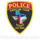 Sansom Park Police Department Patch