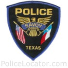 Savoy Police Department Patch