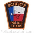Schertz Police Department Patch