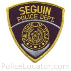 Seguin Police Department Patch