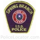 Spring Branch ISD Police Department Patch