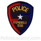 Stephenville Police Department Patch