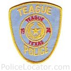 Teague Police Department Patch