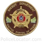 Terrell County Sheriff's Office Patch