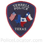 Terrell Police Department Patch