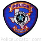 Texarkana Police Department Patch