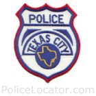 Texas City Police Department Patch