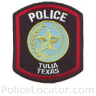Tulia Police Department Patch