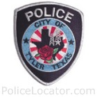 Tyler Police Department Patch
