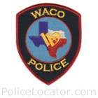 Waco Police Department Patch