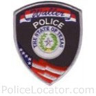 Waller Police Department Patch