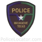 Waxahachie Police Department Patch