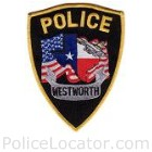 Westworth Village Police Department Patch