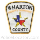Wharton County Sheriff's Office Patch