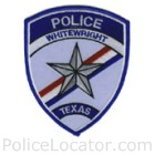 Whitewright Police Department Patch