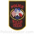 Willis Police Department Patch