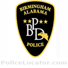 Birmingham Police Department Patch