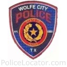 Wolfe City Police Department Patch