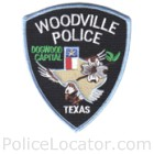 Woodville Police Department Patch