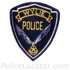 Wylie Police Department Patch