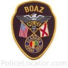 Boaz Police Department Patch