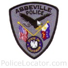 Abbeville Police Department Patch