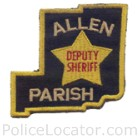 Allen Parish Sheriff's Office Patch
