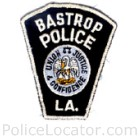 Bastrop Police Department Patch