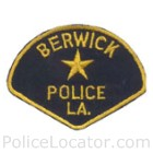 Berwick Police Department Patch