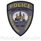 Church Point Police Department Patch