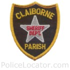Claiborne Parish Sheriff's Office Patch