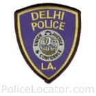 Delhi Police Department Patch