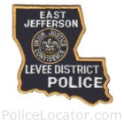 East Jefferson Levee District Police Department Patch