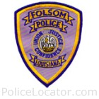 Folsom Police Department Patch