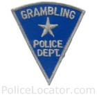 Grambling Police Department Patch