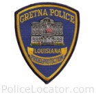 Gretna Police Department Patch