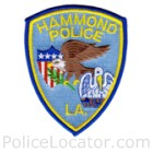 Hammond Police Department Patch