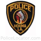 Houma Police Department Patch
