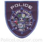 Lake Charles Police Department Patch