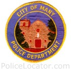 Many Police Department Patch