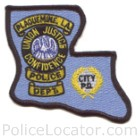 Plaquemine Police Department Patch
