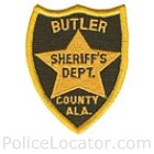 Butler County Sheriff's Department Patch
