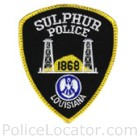 Sulphur Police Department Patch