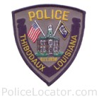 Thibodaux Police Department Patch