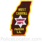 West Carroll Parish Sheriff's Office Patch