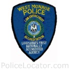 West Monroe Police Department Patch