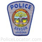 Benson Police Department Patch