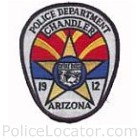 Chandler Police Department Patch