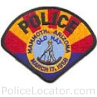 Mammoth Police Department Patch
