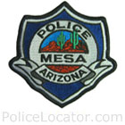 Mesa Police Department Patch